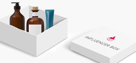 Receive Influencer Boxes & Enjoy the Products